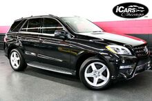 2013 Mercedes-Benz ML550 4-Matic AMG Sport 4dr Suv