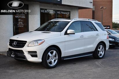 2013 Mercedes-Benz ML550 4Matic