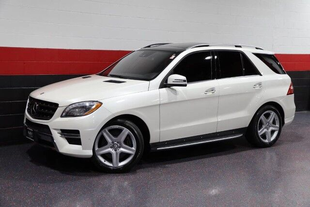 2013 Mercedes-Benz ML550 AMG Sport 4-Matic 4dr Suv Chicago IL