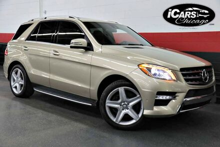 2013_Mercedes-Benz_ML550 AMG Sport 4-Matic_4dr Suv_ Chicago IL