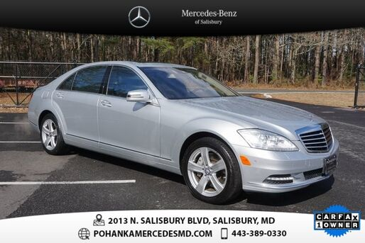2013_Mercedes-Benz_S-Class_S 550 4MATIC®  ***  ONE OWNER  ***_ Salisbury MD