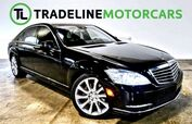 2013 Mercedes-Benz S-Class S 550 REAR VIEW CAMERA, NAVIGATION, LEATHER AND MUCH MORE!!!
