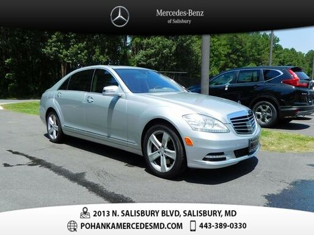 2013_Mercedes-Benz_S-Class_S 550_ Salisbury MD