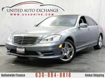 2013 Mercedes-Benz S-Class S550 Sport Package AWD 4Matic w/ Navigation, Bluetooth, Harman K