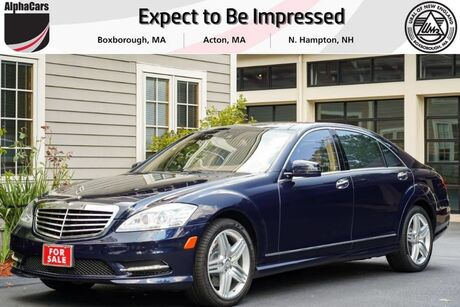 2013 Mercedes-Benz S550 4Matic Boxborough MA