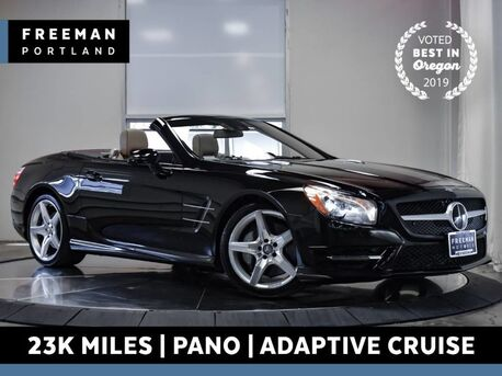 2013_Mercedes-Benz_SL 550_AMG Sport Convertible 23k Mi Pano Adaptive Cruise_ Portland OR