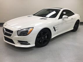 Mercedes-Benz SL 550 AMG Sport Distronic Plus Dynamic Seating Pano Roof 19 whls 2013