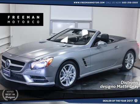 2013_Mercedes-Benz_SL 550_Contour Climate Seats Pano Distronic Cruise_ Portland OR
