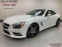 2013_Mercedes-Benz_SL-Class_SL 550 AMG Driver Assist Active Cruise Blind Spot Pano Roof_ Addison TX