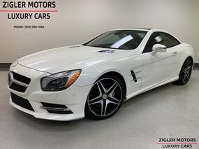 Mercedes-Benz SL-Class SL 550 AMG Driver Assist Active Cruise Blind Spot Pano Roof 2013