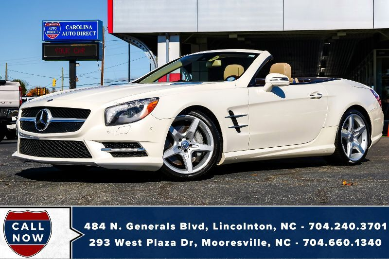 2013 Mercedes-Benz SL-Class SL 550 w/ Heated & Vented Massaging Seats Mooresville NC