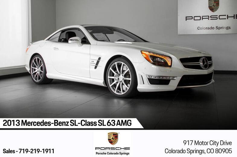 2013 Mercedes-Benz SL-Class SL 63 AMG Colorado Springs CO