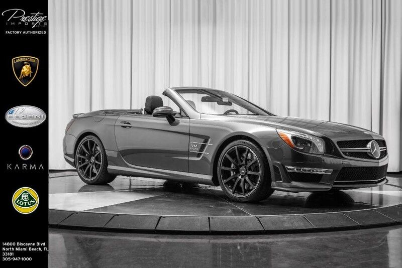 2013_Mercedes-Benz_SL-Class_SL 65 AMG_ North Miami Beach FL
