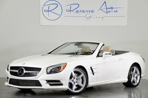 2013 Mercedes-Benz SL-Class SL550 AMG Sport P1 Pkg Pano Roof WE FINANCE The Colony TX