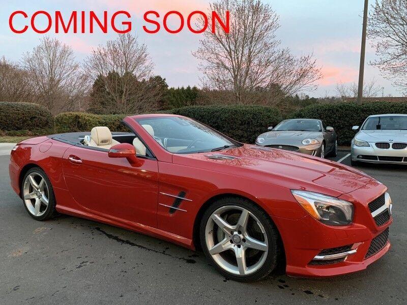 2013_Mercedes-Benz_SL550_115k MSRP_ Charlotte NC