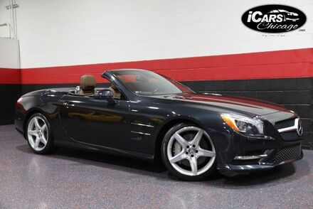 2013_Mercedes-Benz_SL550_AMG Sport 2dr Convertible_ Chicago IL