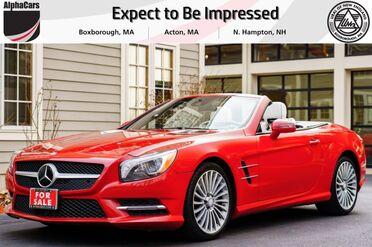 2013_Mercedes-Benz_SL550_Designo Roadster_ Boxborough MA