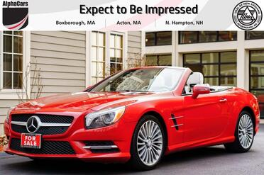 2013_Mercedes-Benz_SL550_Designo Roadster_ Boxborough MA
