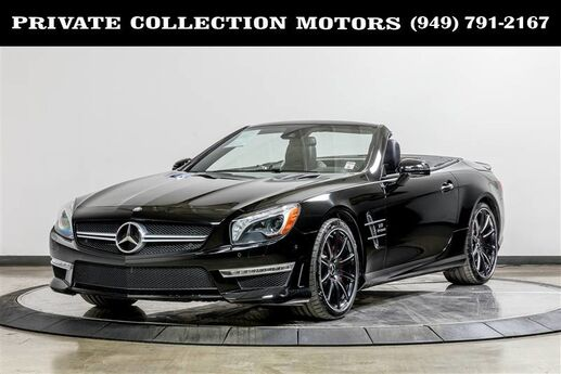 2013 Mercedes-Benz SL63 AMG SL 63 AMG SL-Class Performance Package $161,705 Costa Mesa CA