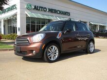 2013_Mini_Countryman_LEATHER, PANORAMIC SUNROOF, CD PLAYER, STABILITY CONTROL, SECURITY SYSTEM_ Plano TX