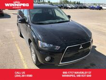 2013_Mitsubishi_Outlander_4WD/LS/Local trade/one owner/Accident Free_ Winnipeg MB
