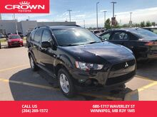 2013_Mitsubishi_Outlander_ES 4WD / Clean Carproof / Immaculate Condition / Great Value_ Winnipeg MB