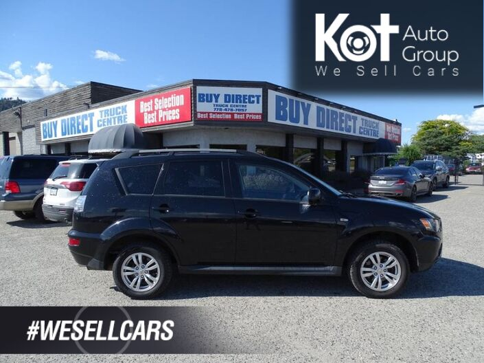 2013 Mitsubishi Outlander ES 4x4, No Accidents! Kelowna BC