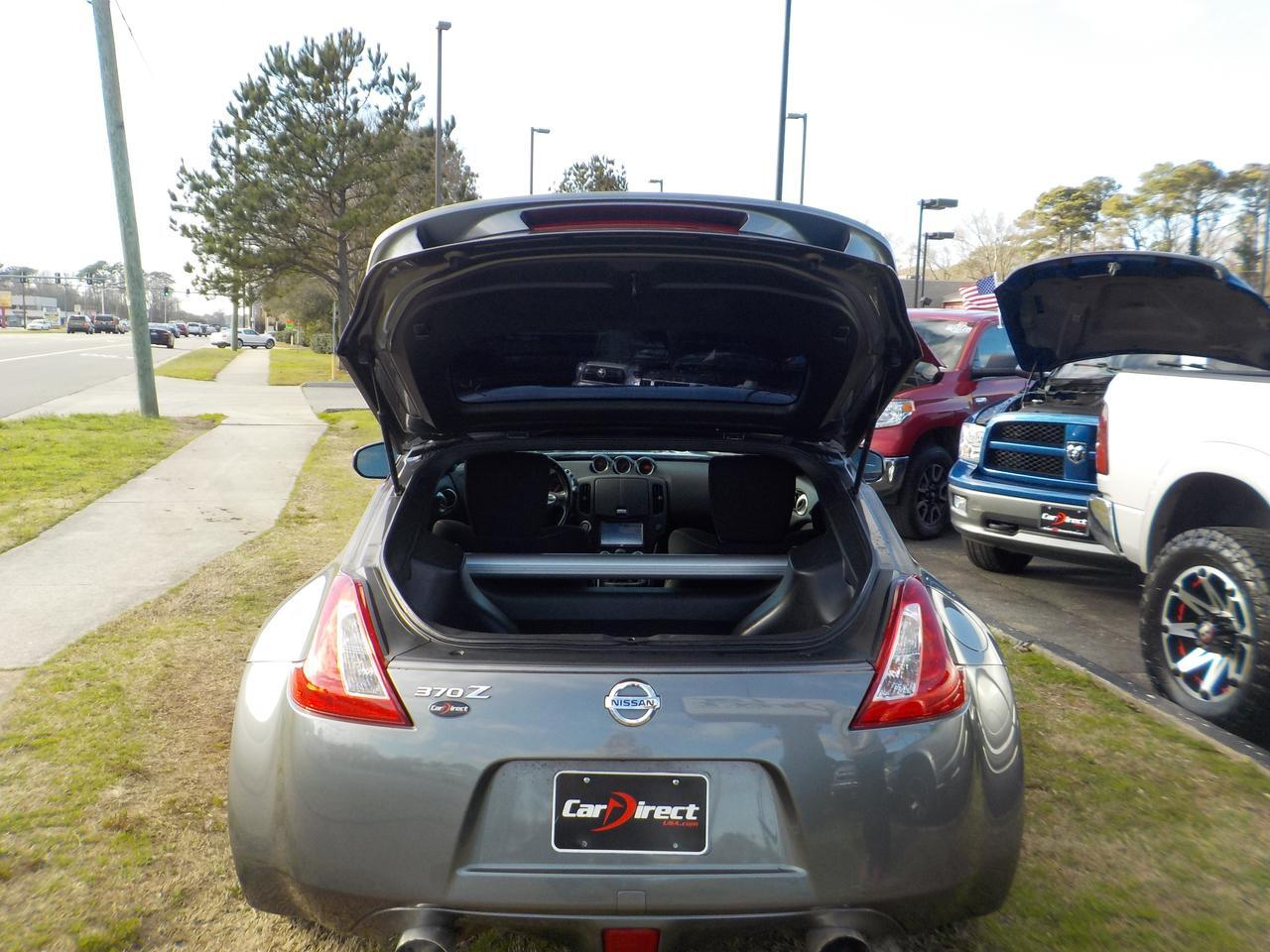 2013 NISSAN 370Z COUPE MANUAL RWD, WARRANTY, KEYLESS ENTRY & START, NAVIGATION, DAYTIME RUNNING LIGHTS! Virginia Beach VA