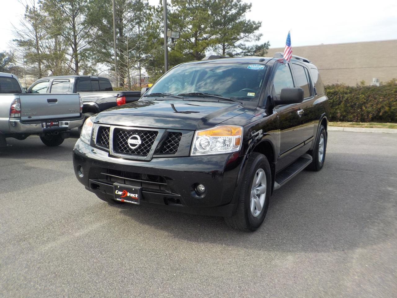 2013 NISSAN ARMADA SV 4X4, DVD ENTERTAINMENT, BLUETOOTH CAPABILITIES, TOW PACKAGE, BOSE SOUND SYSTEM, ONLY 96K MILES! Virginia Beach VA