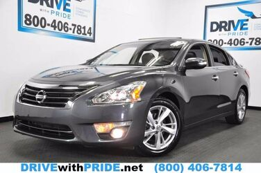 Nissan Altima 2.5 SL REAR CAM HTD STS LEATHER SUNROOF BLUETOOTH 2013