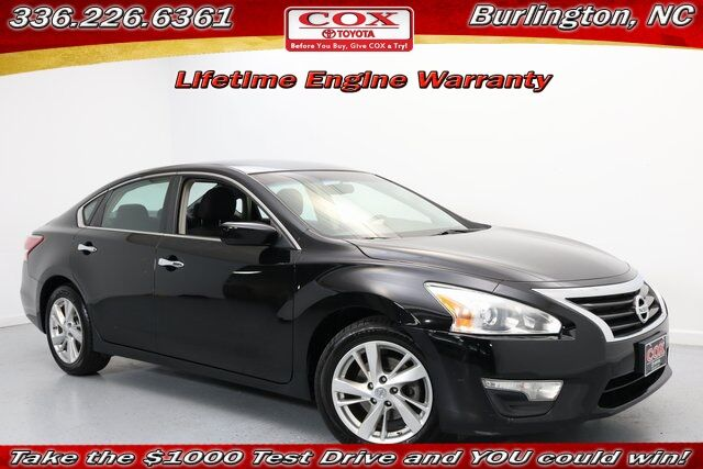 2013 Nissan Altima 2.5 SV Burlington NC