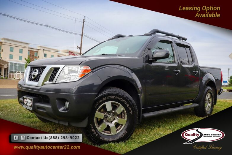 2013 Nissan Frontier PRO-4X Luxury Package Bed Extender Navigation 1 Owner Springfield NJ