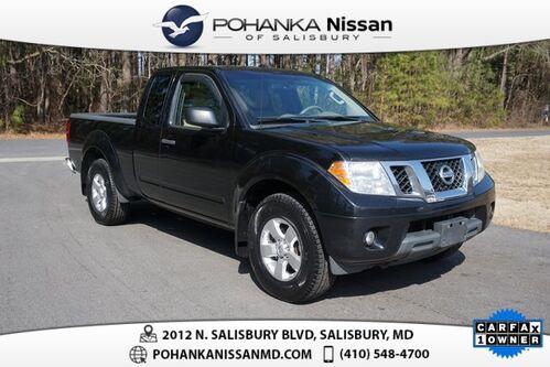 2013_Nissan_Frontier_SV_ Salisbury MD
