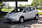 2013 Nissan LEAF SV NEW Leather Interior, Heated Seats Quick Charge Port!