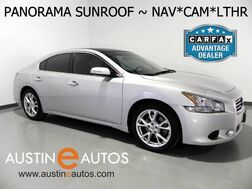 2013_Nissan_Maxima 3.5 SV w/Premium Pkg_*NAVIGATION, PANORAMA MOONROOF, BACKUP-CAMERA, LEATHER, CLIMATE FRONT SEATS, BOSE AUDIO, ,BLUETOOTH_ Round Rock TX