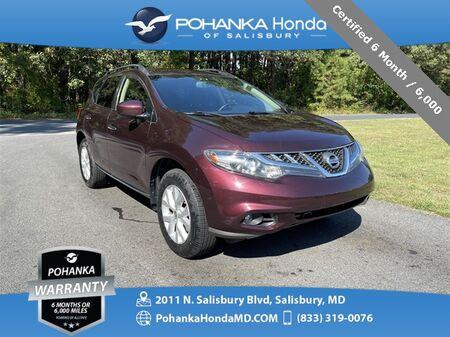 2013_Nissan_Murano_SV ** Certified 6 Month / 6,000 **_ Salisbury MD