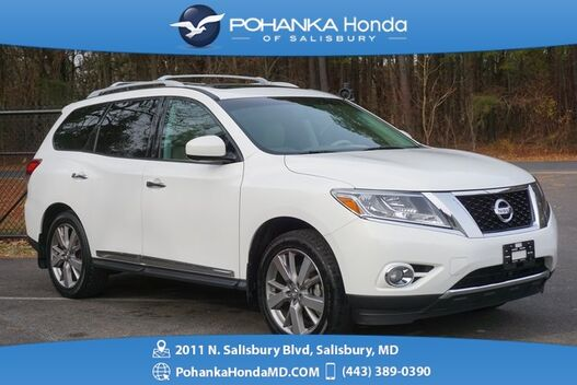 2013_Nissan_Pathfinder_Platinum ** NAVI & REAR DVD ** THREE ROW SEATING *_ Salisbury MD