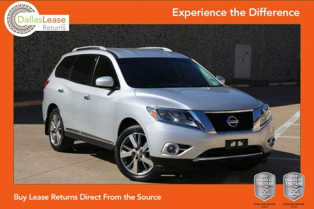 2013 nissan pathfinder platinum dallas tx