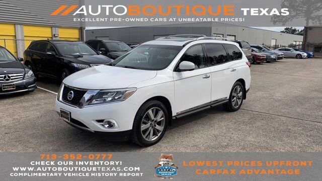 2013 Nissan Pathfinder Platinum Houston TX