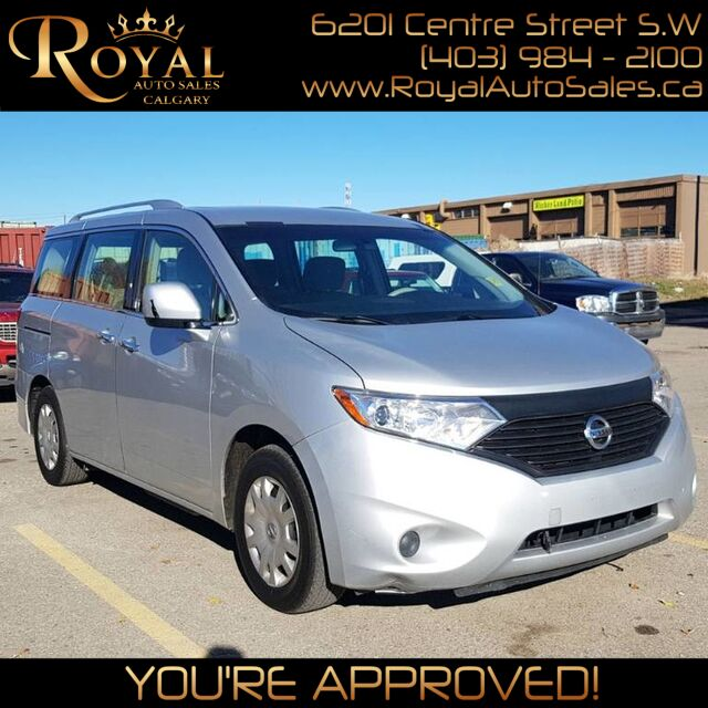2013 Nissan Quest S w/ PWR WINDOWS, PWR LOCKS, PWR MIRRORS Calgary AB