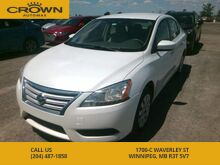 2013_Nissan_Sentra_S **1 Owner Lease Return** No Accidents ** Great On Gas**_ Winnipeg MB