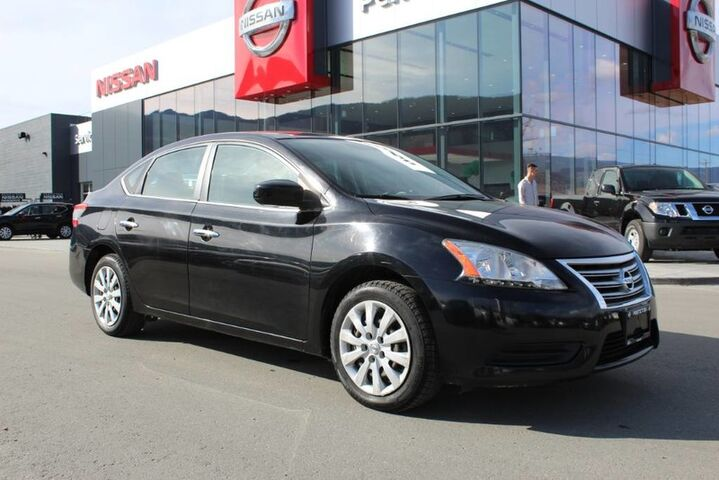 2013 Nissan Sentra S, Auto, w/ Super Black Exterior, Bluetooth, and Brand New All Season Tires Kelowna BC