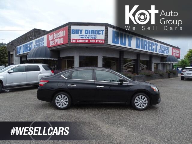 2013 Nissan Sentra S ECO and Sport Mode Kelowna BC