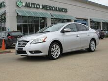2013_Nissan_Sentra_SL, BLUETOOTH CONNECTION, NAVIGATION SYSTEM, BACK UP CAMERA, SATELLITE RADIO, AUX AUDIO INPUT, AUTOM_ Plano TX