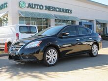 2013_Nissan_Sentra_SL LEATHER SEATS, BLUETOOTH CONNECTION, NAVIGATION SYSTEM, BACK UP CAMERA, SUNROOF,HEATED FRONT SEAT_ Plano TX
