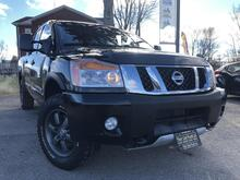 2013_Nissan_Titan_PRO-4X-96wk-Crew Cab-4WD-Sunroof-Navi-PwrGrp-LeathrHeatdSts_ London ON