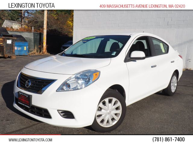 2013 Nissan Versa 1.6 SV Lexington MA