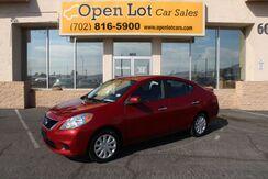 2013_Nissan_Versa_1.6 SV Sedan_ Las Vegas NV
