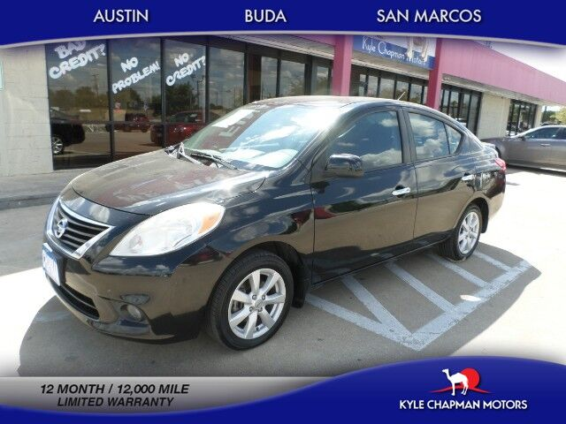2013 Nissan Versa 1 OWNER/PUSHSTART/BLUETOOTH
