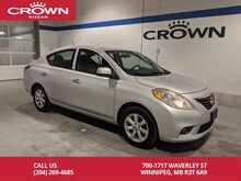 2013_Nissan_Versa_SL **Local/One Owner/Great on Fuel**_ Winnipeg MB